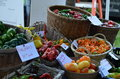 Farmers market in Vermont Royalty Free Stock Photo