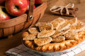 Farmhouse Apple Pie Royalty Free Stock Photography