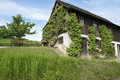 Farmhouse in austria old on lake constance germany Stock Photos