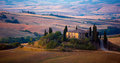 Farmhouse in Tuscany Royalty Free Stock Image