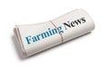 Farming News Royalty Free Stock Photo