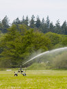 Farming Sprinkler Royalty Free Stock Images