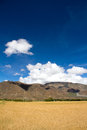 Farmland the beautiful view of tibet china Stock Photography