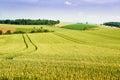 Farmland in Upper Austria Royalty Free Stock Photography