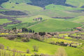 Farmstead in tuscany volterra italy Royalty Free Stock Image