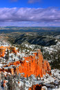Farview Point Bryce Canyon Royalty Free Stock Images