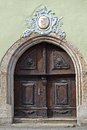 Fascinating old door in germany a muehlhausen Stock Image