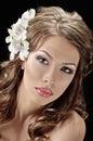Fascination bride Royalty Free Stock Image