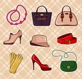 Fashion Accessories Royalty Free Stock Photography