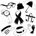 Fashion accessories Stock Images