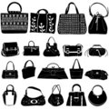Fashion bag vector Royalty Free Stock Photo