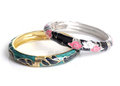 Fashion bangle photo of beautiful fashionable Royalty Free Stock Photography