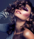 Fashion Beauty Girl Royalty Free Stock Images