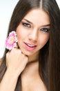 Fashion Beauty Girl. Gorgeous Woman Portrait Royalty Free Stock Photo