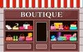 Fashion boutique.