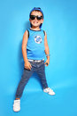 Fashion boy Royalty Free Stock Image