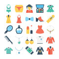 Fashion and Clothes Colored Vector Icons 3
