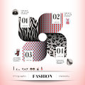 Fashion concept graphic element illustration and icon Royalty Free Stock Photos