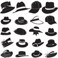 Fashion hat vector Royalty Free Stock Images