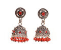 Fashion jewelery isolated ear rings Stock Images