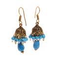 Fashion jewelery isolated ear rings Stock Image