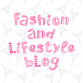 Fashion and lifestyle blog modern lettering