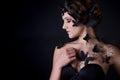 Fashion Portrait Of A Beautifu...