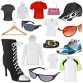 Fashion set vector Stock Image