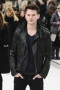 Fashion Show, Jeremy Irvine Stock Photo