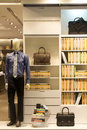 Fashion showcase under the spotlight Stock Images