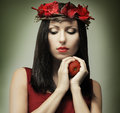 Fashion woman - temptation Stock Images