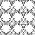 Fashionable dark floral pattern in many kinds of flowers. Seamless vector texture for fashion prints. Print with in hand drawn