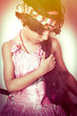 Fashionable indian asian girl portrait Royalty Free Stock Photo