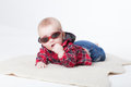 Fashionable little boy Royalty Free Stock Photo