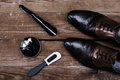 Fashionable men`s shoes and accessories