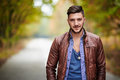 Fashionable young man Royalty Free Stock Photo