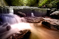 Fast flowing water mountain river adv others purpose use Stock Photo