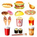 Fast food Stock Images