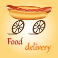 Fast food delivery Stock Photography