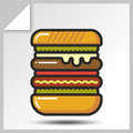 Fast food icons_5