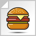 Fast food icons_3