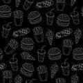 Fast food pattern.