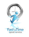 Fast in Time. Social icon
