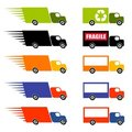Fast Trucks Clip Art Stock Photos