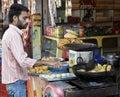 Fasta food Jammu Kashmir kodi shiva kram Obraz Royalty Free