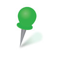 Fastener green on the white background Royalty Free Stock Photo