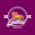 Fastfood logo design
