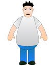 Fat boy Royalty Free Stock Photo