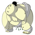 Fat Sumo Royalty Free Stock Photography