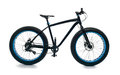 Fatbike fat bike or fat-tire bike Royalty Free Stock Photo
